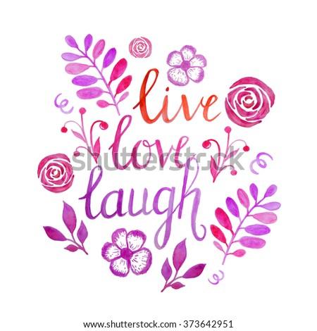 live laugh love stock images royalty free images. Black Bedroom Furniture Sets. Home Design Ideas