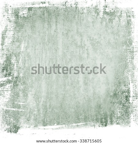 watercolor painted wall texture old paper blue abstract grunge background - stock photo