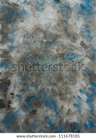 Watercolor painting background. Abstract texture, vintage design, luxurious paper or grunge wallpaper - stock photo