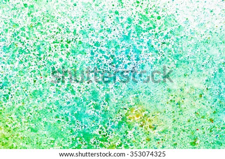 watercolor painting on paper background texture - stock photo