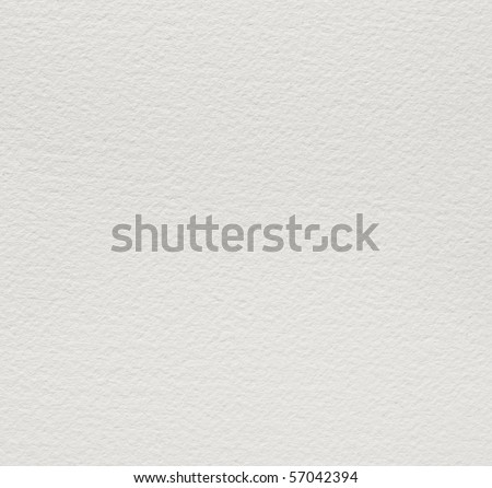 Watercolor paper background texture. Focus across entire surface. - stock photo