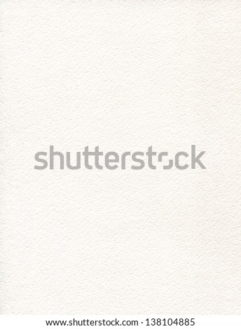 Watercolor paper crumbly texture - stock photo