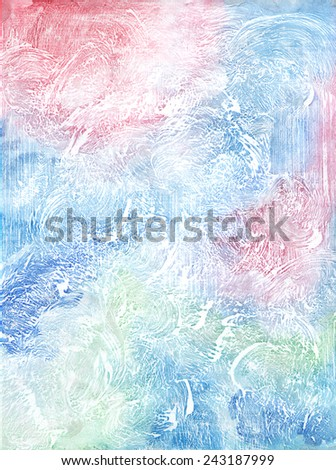 Watercolor paper texture  background - stock photo