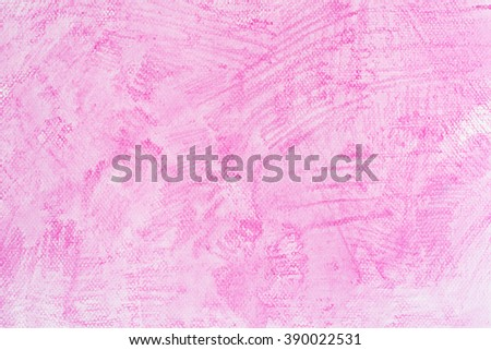 watercolor pink painted background texture - stock photo