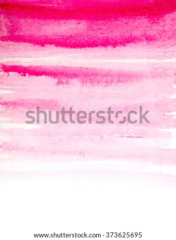 watercolor pink texture background. raster - stock photo