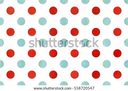 watercolor red blue polka dot background stock illustration rh shutterstock com polka dot background clipart Blue Polka Dot Clip Art