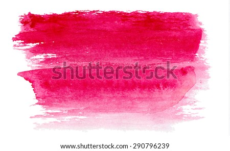 watercolor texture - stock photo