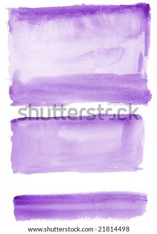 Watercolor texture Background - stock photo