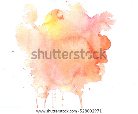 Watercolor texture of stains