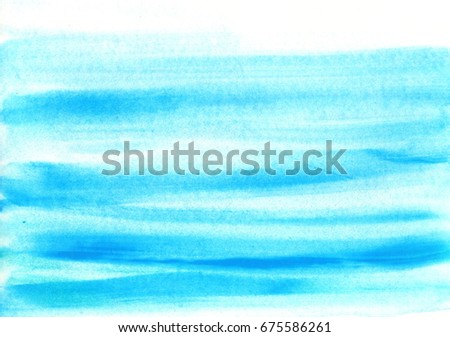 "Watercolor ""water"" background"