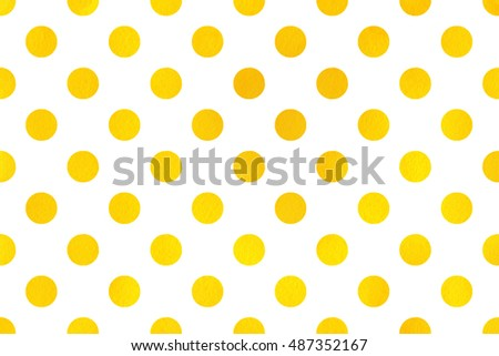watercolor yellow polka dot background pattern with yellow polka dots for scrapbooks wedding