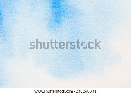 watercolors on textured paper background - stock photo