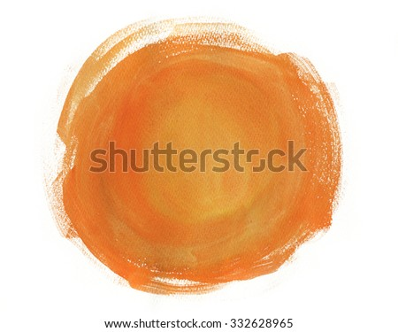 Watercolour abstract background  - stock photo