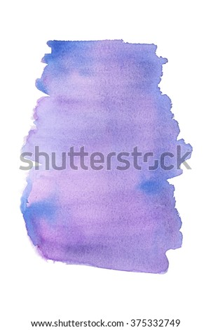 Watercolour hand-drawn texture background