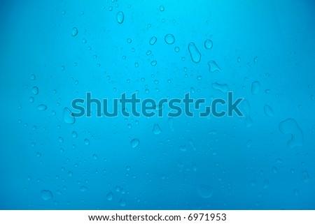 waterdrop background - stock photo