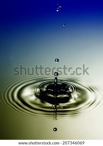 Waterdrops - stock photo