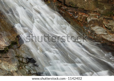 Waterfall and rivers (more images in my gallery) - stock photo
