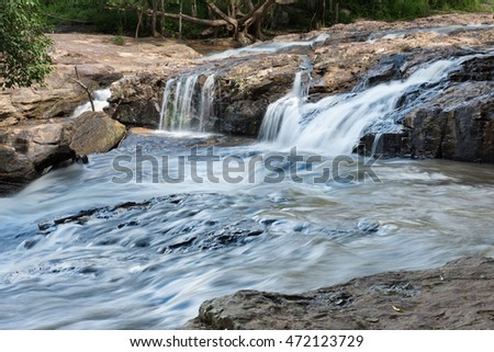Waterfall at Chaiyaphum province, Thailand