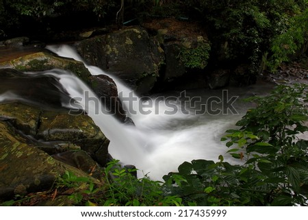 waterfall in Utraradit Thailand (Phusoidao waterfall Nation Park)