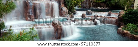 Waterfall Panorama.
