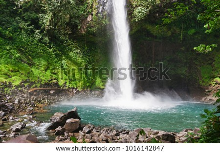 Waterfall Flow River Autumn Emerald Water Gallery 3000x2000