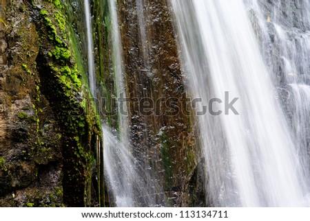 Waterfalls Nature Landscape - stock photo