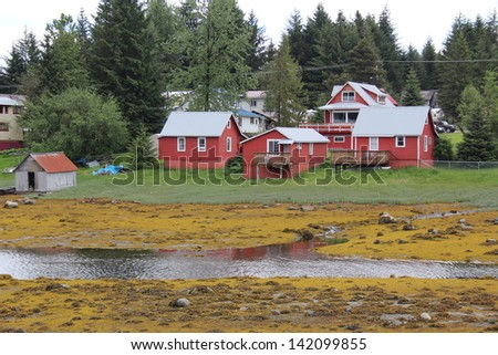 Waterfront Home at Petersburg Alaska
