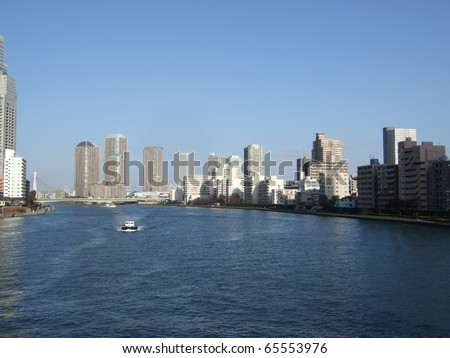 Waterfront in Tokyo