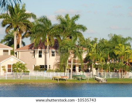 Waterfront real estate in Florida