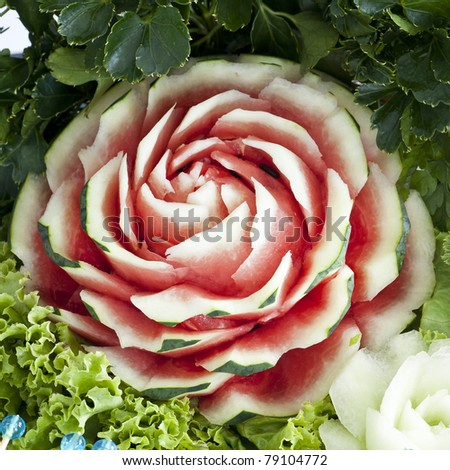 Fruit Carving Stock Images, Royalty-Free Images & Vectors ...