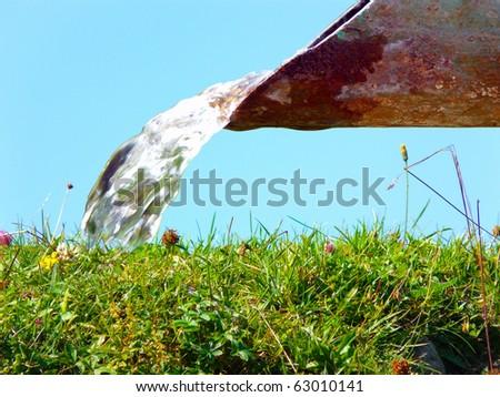 waterpipe - stock photo