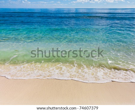 Waters Sea Scene - stock photo