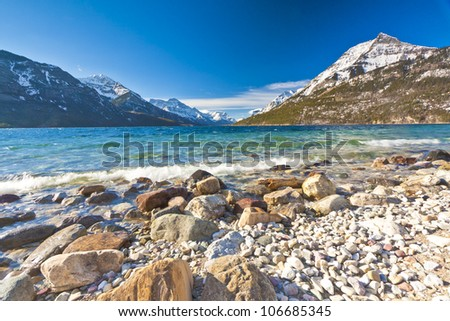 Waterton Lake Shore