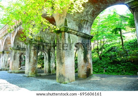 https://thumb7.shutterstock.com/display_pic_with_logo/167494286/695606161/stock-photo-waterway-in-kyoto-695606161.jpg