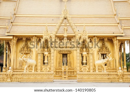 Watjolo,Temple in Thailand