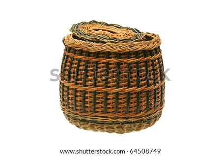 Wattled basket - stock photo