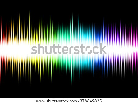 Wave Colorful Abstract Background
