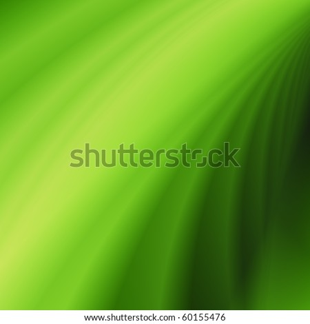 Wave eco background green abstract nature pattern - stock photo