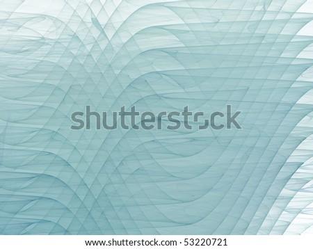 Wave fractal - stock photo