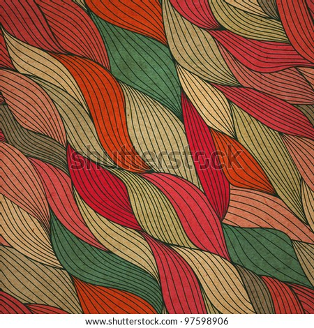 wave patterns (seamlessly tiling).Seamless pattern can be used for wallpaper, pattern fills, web page background,surface textures. Gorgeous seamless floral background - stock photo