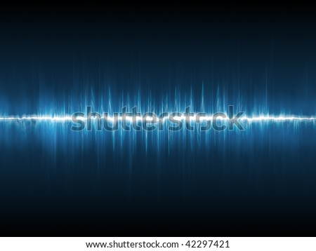 Waveform - stock photo