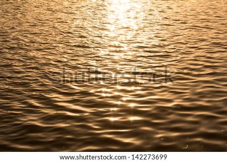 waves background - stock photo