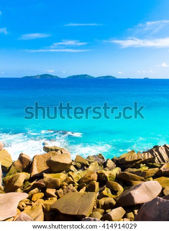 Waves Getaway Summer  - stock photo
