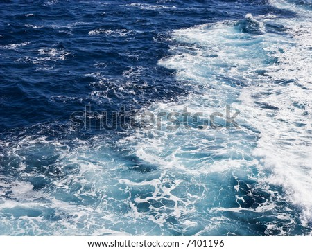 Waves in the open sea