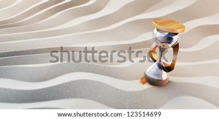 Waves of Economy Concept - stock photo