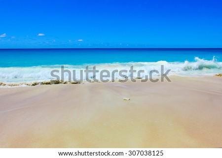 Waves Splashing Tide  - stock photo