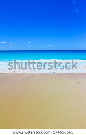 Waves Tide Beach  - stock photo