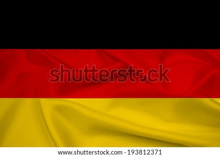 Waving Germany Flag