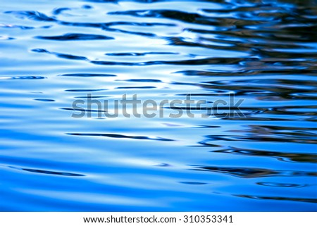 Waving water background. Abstraction for a relaxation - stock photo