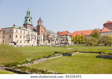 Wawel Cathedral, also known as the Cathedral Basilica of Sts. Stanis?aw and Vaclav, is a church located on Wawel Hill in Kraków